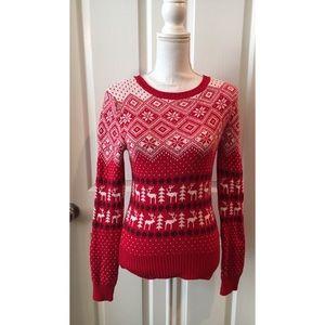Prince & Fox Pretty Red Christmas Sweater